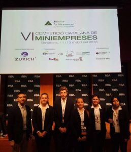 ClickLink en la final catalana de Junior Achievement Colegio Concertado Barcelona